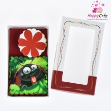 Cookie 2 buc, martisor dulce in cutie MD55